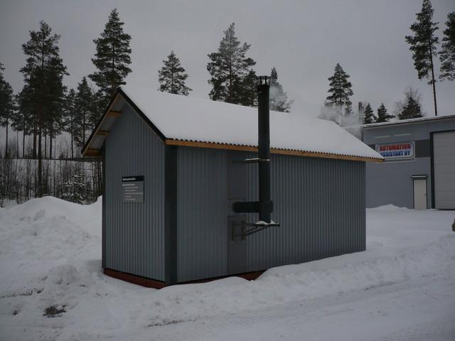 MW-Lämpötekniikan oma pellettilämpökeskus