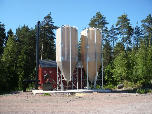 Pellettilaitos, 500 kW