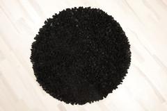 nahkapalamatto musta