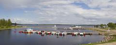 Venesatama Suomussalmella