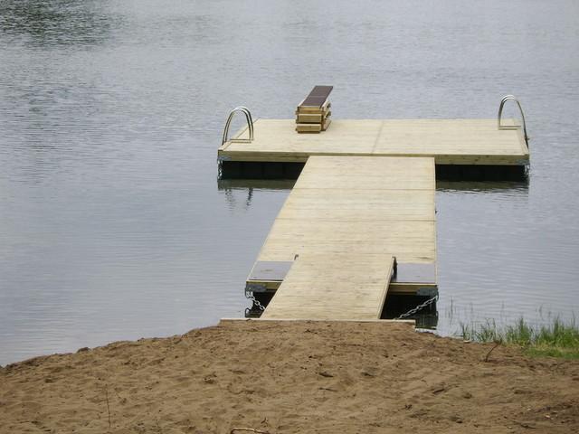 Uimalaituri pohhahduslaudalla