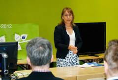 Saara Bäck, Ympäristöministeriö (kuva: Pekka Koski)