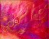 Universumin pidot / 40 x 50 cm / öljypastelli, ripustusvalmis canvas / 111€