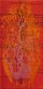MYYTY / Ihme / 30 x 20 cm / akryyli ja akryylitussi, ripustusvalmis canvas