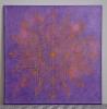 Kalibrointi / 111€ / 40 x 40 cm / metallinhohtoinen akryyli ja akryylitussi, ripustusvalmis canvas
