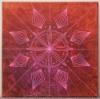 Shamaanimatka / 111€ / 40 x 40 cm / akryyli ja akryylitussi / ripustusvalmis canvas