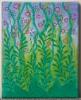 MYYTY / Ilonpito / 25 x 20 cm / akryyli, metallinhohtoinen akryyli ja akryylitussi / ripustusvalmis canvas