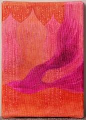 Oodi vapaudelle / 33€ / 18 x 13 cm / alkoholitussi ja akryylitussi / ripustusvalmis canvas