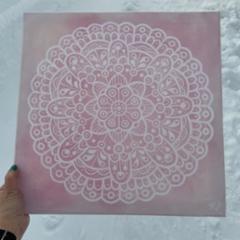 MYYTY Talvipäivä Rukalla, 1/2021 40 x 40 cm Akryyli 111€