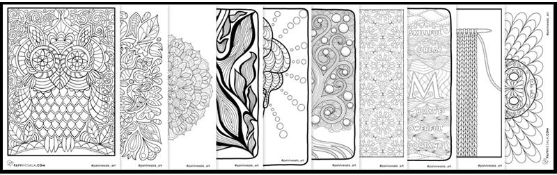 Free coloring pages   Coloring + Branding by Päivi Vesala