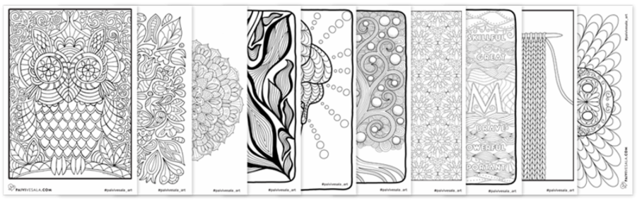 10 Printable Coloring Pages More Cool Stuff