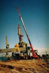 Satamanosturin kasaus 90-luvulla, Syväsatama Kokkola