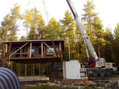 Huvilan siirto Evijärvellä 2009