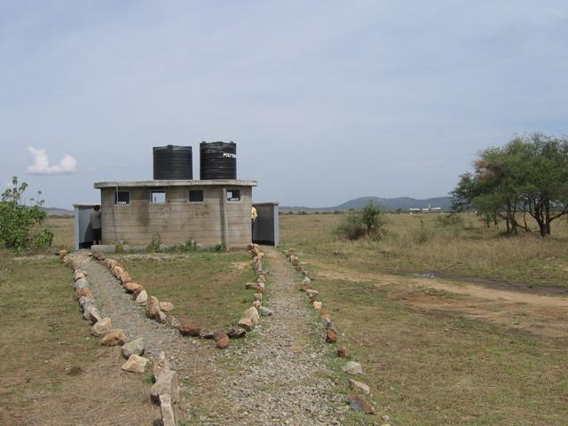 Serengetin lentoaseman käymälät