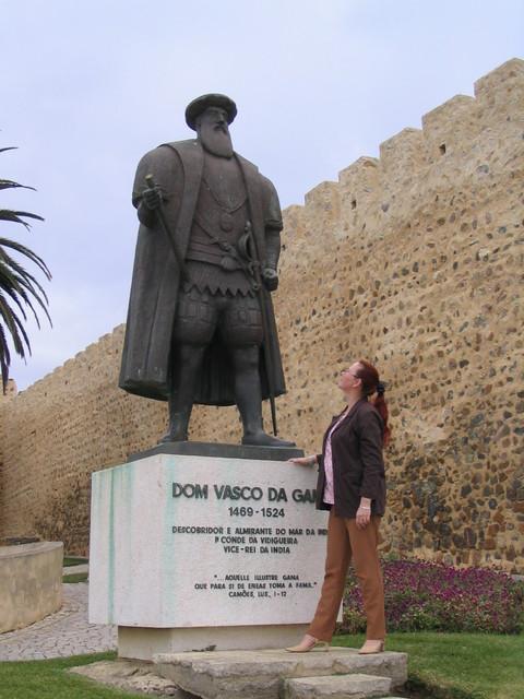 Vasco da Gaman patsas