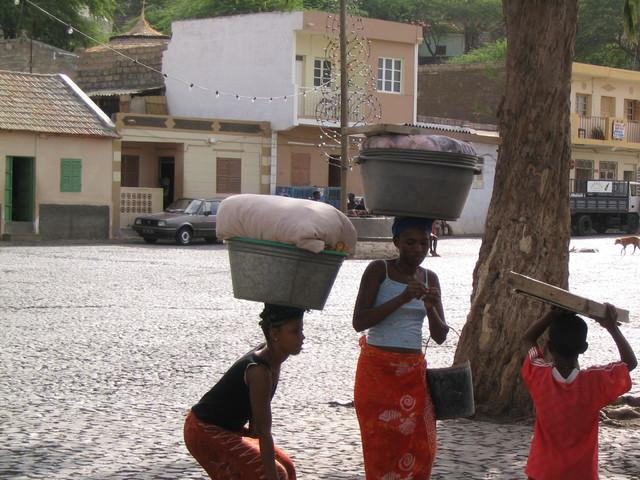 Cidade Velha -kylä Praiassa