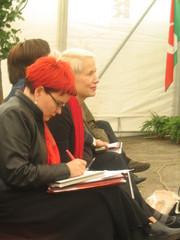 Minna Sirnö ja Anne Siimes