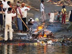 Ruumiinpoltto Gangesilla