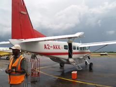 Lento Windhoekista Mauniin