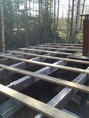Kesäkeittiön kattotyöt Loviisassa