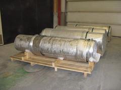 viimeistelty ja pakattu, menossa Olkiluodon ydinvoimalaan