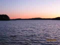 Ristniemenselän auringonlasku