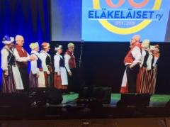 Eläkeläiset ry 60v, 4.12. 2019