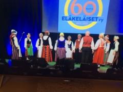 Eläkeläiset ry, 60v, 4.12. 2019