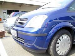 Puskurien suojalistat Opel Meriva 2003