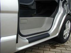 Renault trafic vm. 2013- Kynnyssuoja, vinyyli, tarrakalvo.