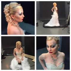 Making of ice queen photoshoots 2015