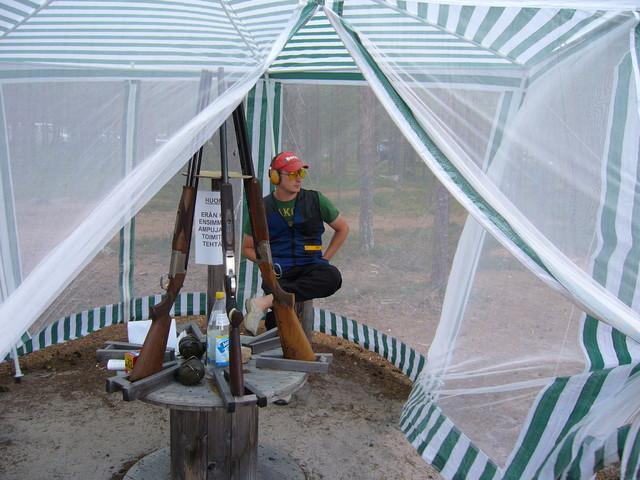metsästäjäliiton sm-kilpailut pessalompolossa. 28.07.2007