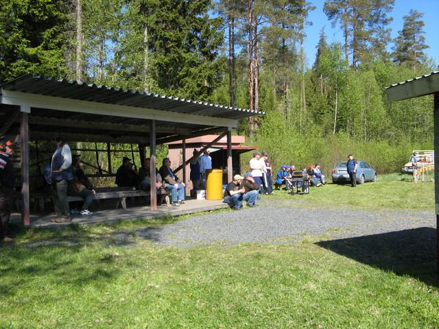 SML:n V-S piiirin metsastyshaulikon katsastuskilpailu 24.5.2008 Paimiossa