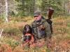 Marko ja Kiela metsäkokeessa