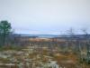 Maisema järvelle Hetassa