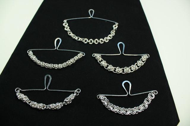 solmiopidikkeita eri ketjumalleilla