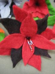 punainen huopakukka