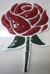 ruusu lasimurskasta