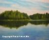 Järvimaisema, öljyväri, 80 x 100, 500 €