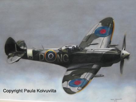 Spitfire, pastelliliitu