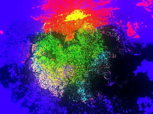 Kukkiva tähtisumu/Blooming nebula