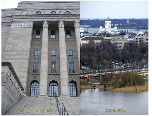 Parliament house & Cathedral