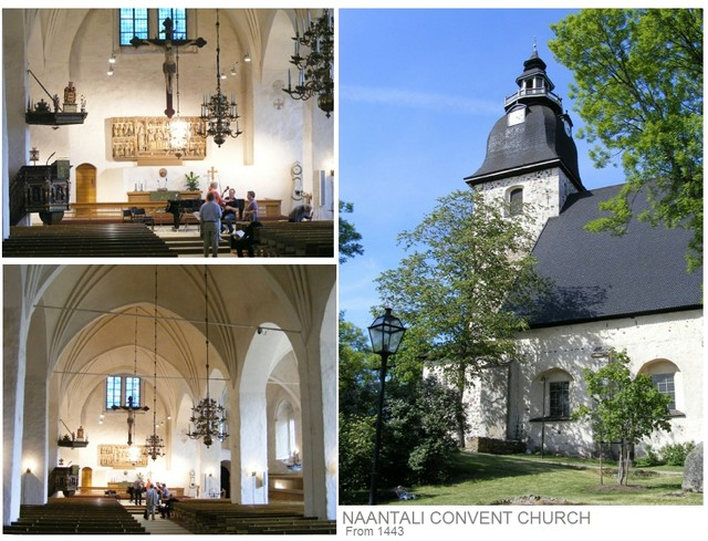 Naantali convent church