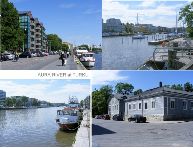 Aura river at turku