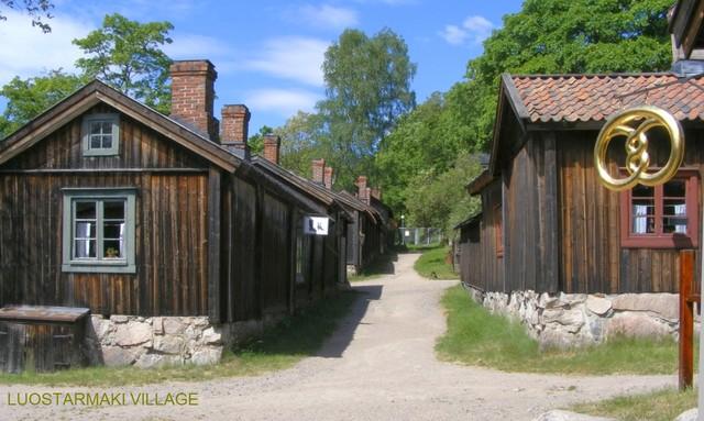 Luostarinmäki village