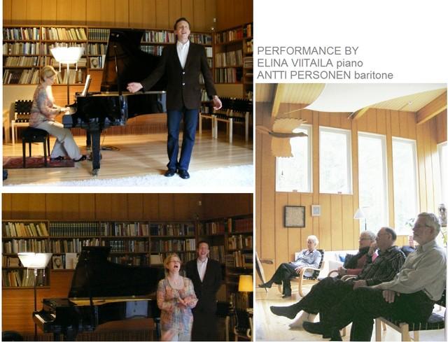 Performance at Villa Kokkonen