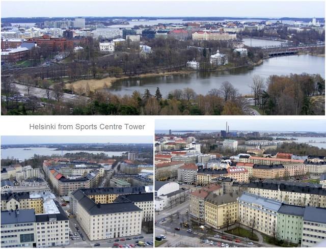 Helsinki tower views