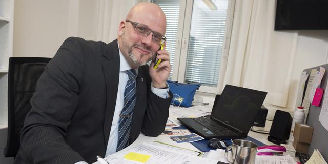 Pekka EU-vaalipäällikkönä 2014