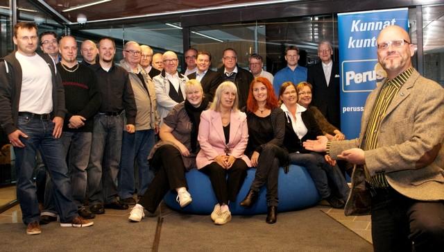 Pekka ja kirkkonummelaiset kuntavaaliehdokkaat 2012