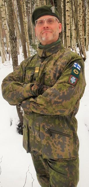 Reservin yliluutnantti Pekka M. Sinisalo